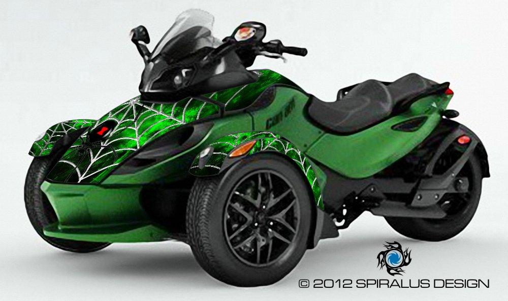 Spyder Rs Graphic Kit Black Widow 2 0