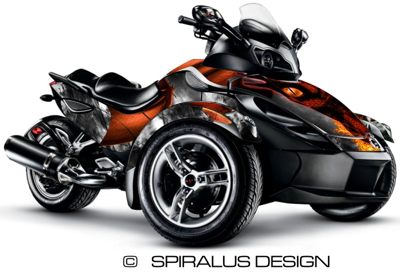 Dragon Arachnid Graphic Kits For Rs Spyders